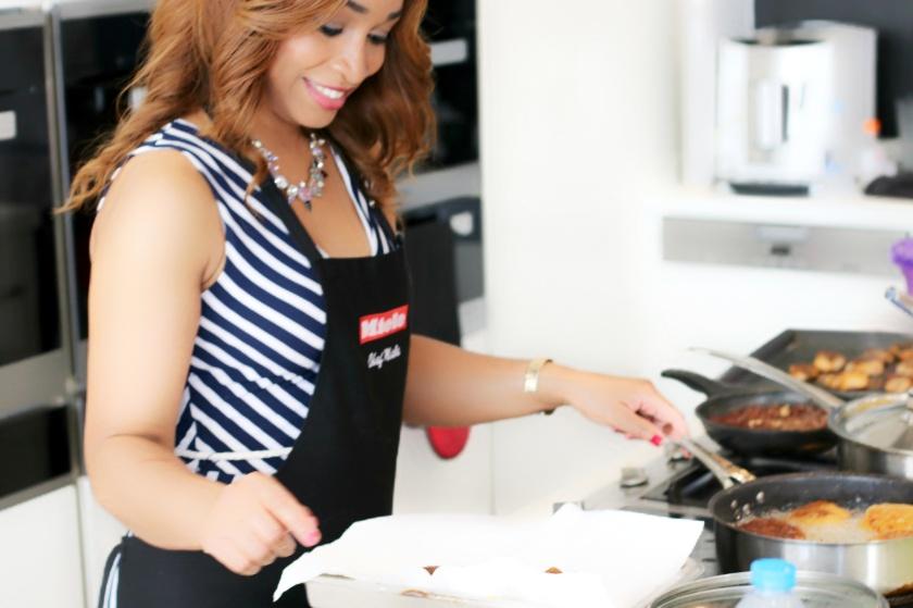 Lerato Cookery class